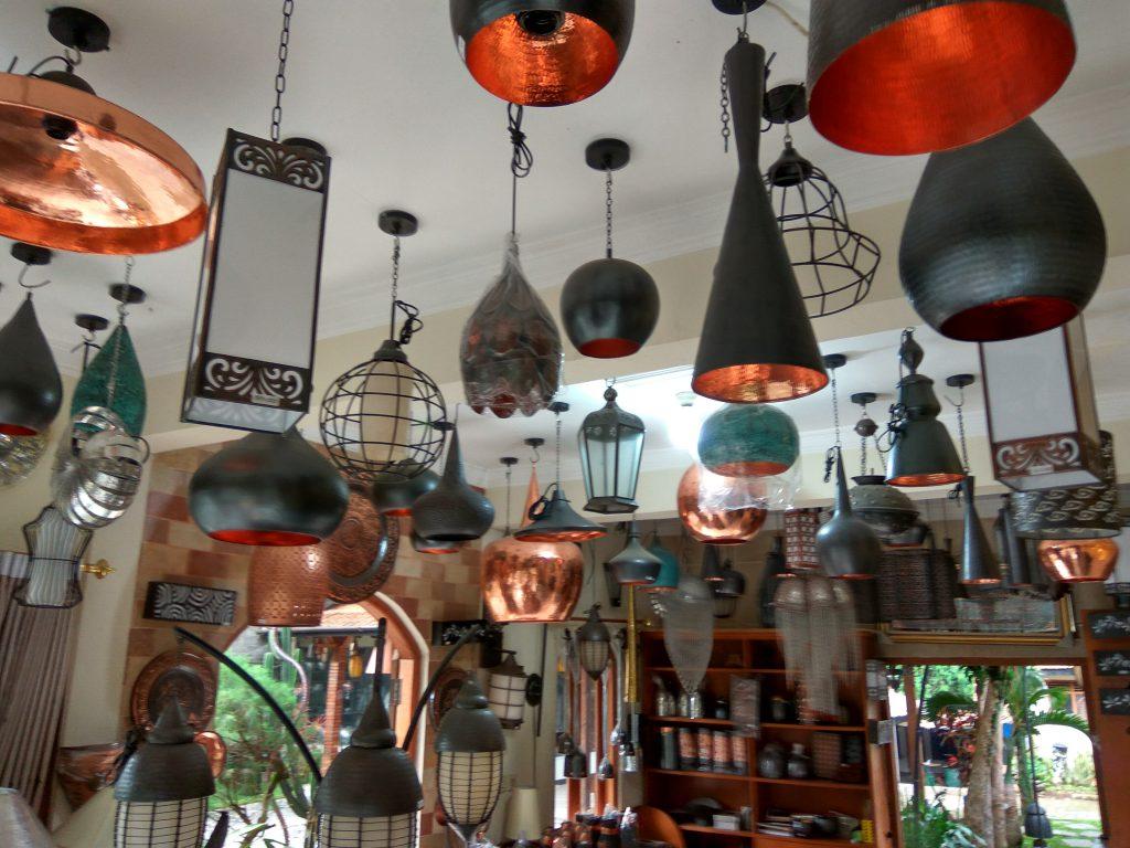 lampu hias tembaga